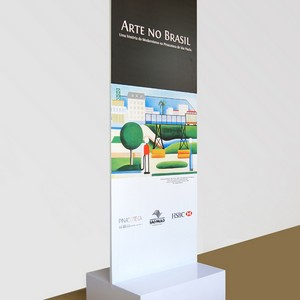 Display totem para evento