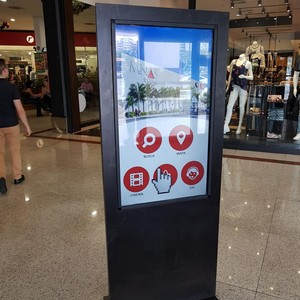 Fabricante de totem touch screen